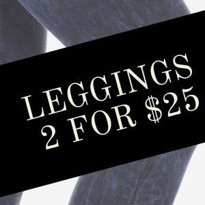 2 for $25 Leggings all🛍❣